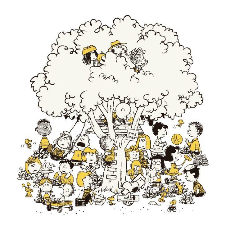 スヌーピーミュージアム東京町田日本ピーナッツ美術館イラストかわいい大好き1