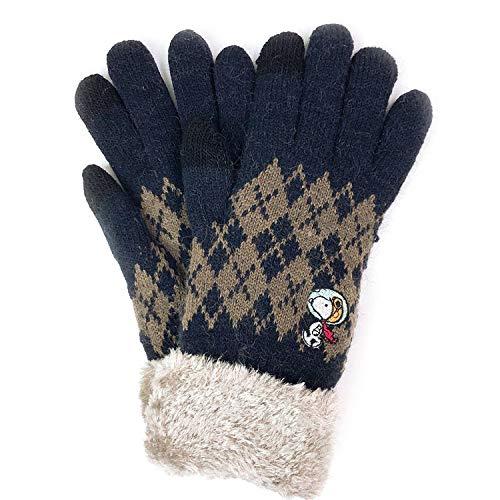 スヌーピー手袋2019冬かわいい暖かい刺しゅうアストロノーツ宇宙飛行士1