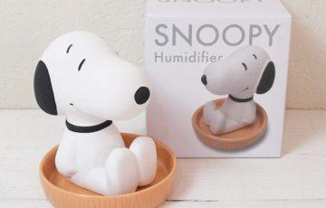 スヌーピー素焼き加湿器かわいいインテリア冬乾燥電気代節約エコ安全1