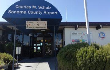 スヌーピーソノマ空港アメリカサンタローザ2019年10月フライングエース4