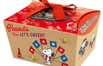 スヌーピーバレンタインギフトチョコ2020スポーツ応援ピーナッツ箱かわいい1