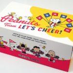スヌーピーマスクスポーツ旗ピーナッツ応援箱入りBOX個別包装30枚1
