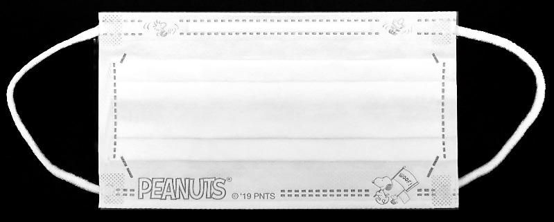 スヌーピーマスクスポーツ旗ピーナッツ応援箱入りBOX個別包装30枚3