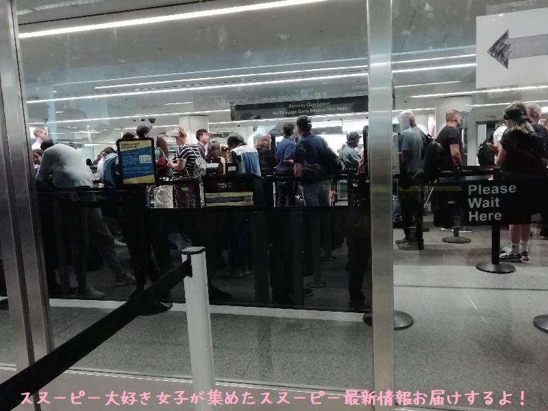 スヌーピーアメリカ旅行2020サンタローザサンフランシスコ飛行機JAL帰り3