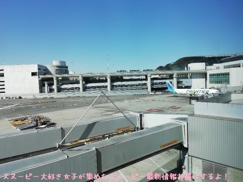 スヌーピーアメリカ旅行2020サンタローザサンフランシスコ飛行機JAL帰り4