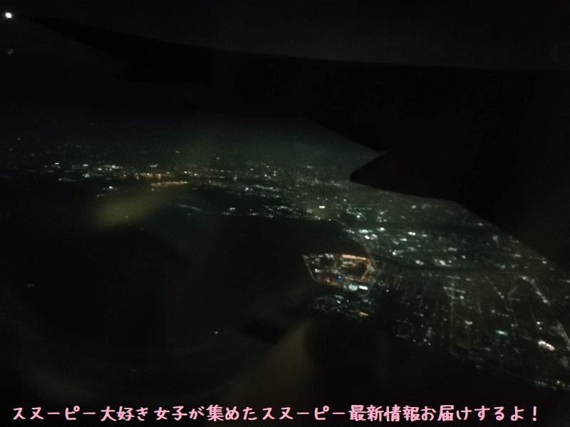 スヌーピーアメリカ旅行2020サンタローザサンフランシスコ飛行機JAL行き18