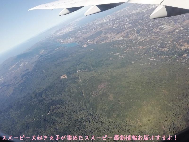 スヌーピーアメリカ旅行2020サンタローザサンフランシスコ飛行機JAL行き40