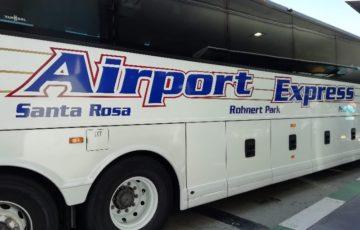 スヌーピーサンタローザサンフランシスコ空港バスエアポートエクスプレス12