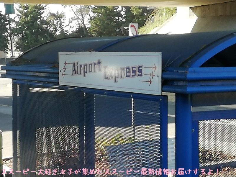 スヌーピーサンタローザサンフランシスコ空港バスエアポートエクスプレス33