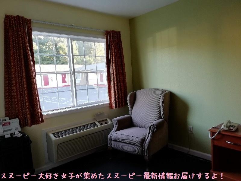スヌーピーサンタローザホテルノースベイイン宿泊部屋旅行ベッド綺麗広い4