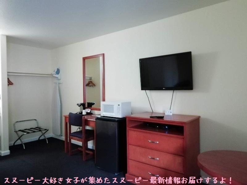 スヌーピーサンタローザホテルノースベイイン宿泊部屋旅行ベッド綺麗広い8