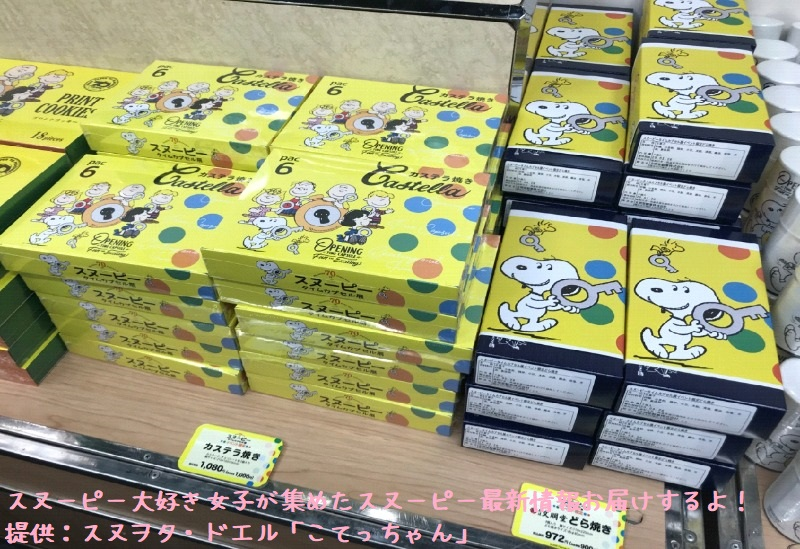 スヌーピータイムカプセル展ピーナッツ70周年イベント京都こてっちゃん57