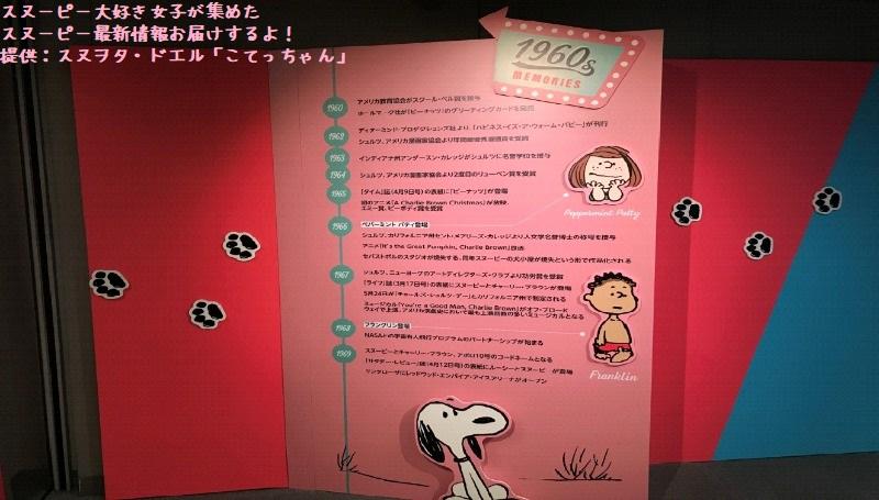 スヌーピータイムカプセル展ピーナッツ70周年イベント京都こてっちゃん6