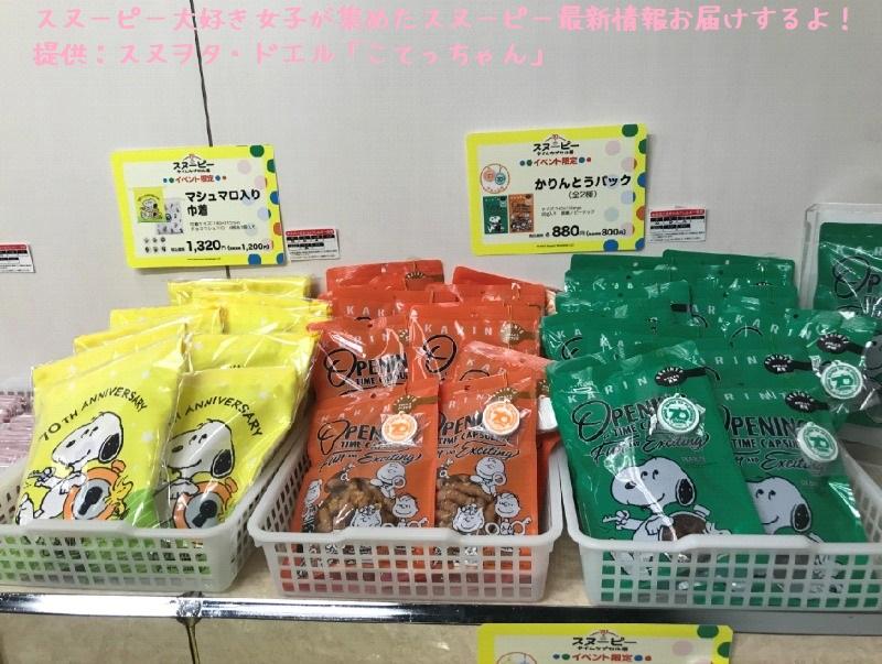 スヌーピータイムカプセル展ピーナッツ70周年イベント京都こてっちゃん60