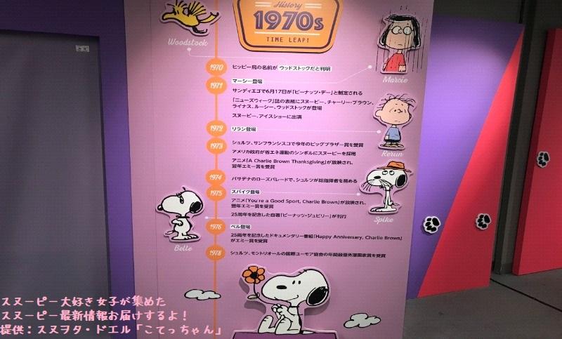 スヌーピータイムカプセル展ピーナッツ70周年イベント京都こてっちゃん7