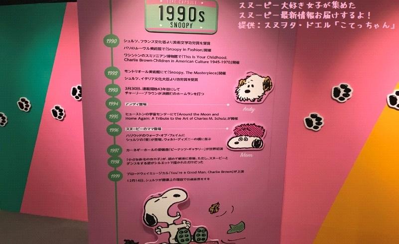 スヌーピータイムカプセル展ピーナッツ70周年イベント京都こてっちゃん9