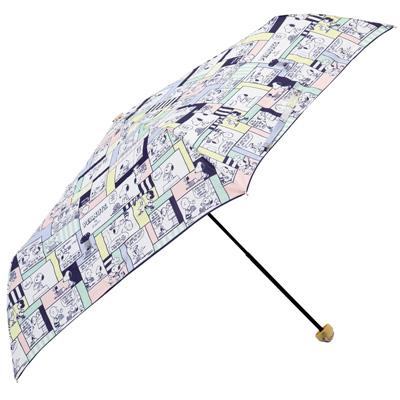 スヌーピー雨傘2020梅雨かわいいピーナッツコミック柄雨晴兼用UVカット6