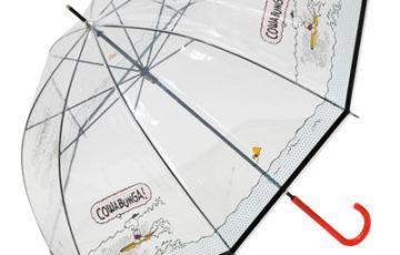 スヌーピー雨傘2020梅雨ビニール傘かわいいサーフィン透明オシャレ波乗り1