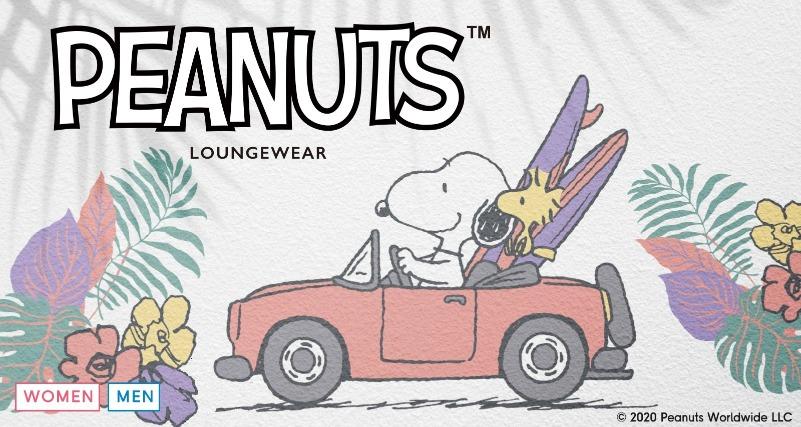 スヌーピー×GUコラボ2020は夏パジャマ♡南国デザインでリゾート気分✿