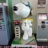 スヌーピーアメリカサンタローザ外貨両替できないPLUS海外ATMソノマ空港1