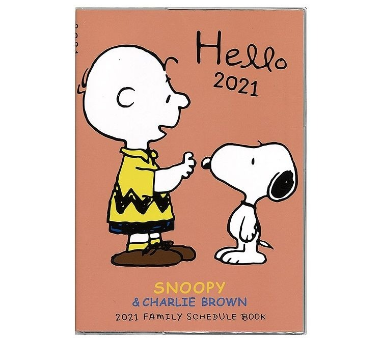 スヌーピースケジュール手帳2021年12月始まり楽天チャーリーブラウンハロー4