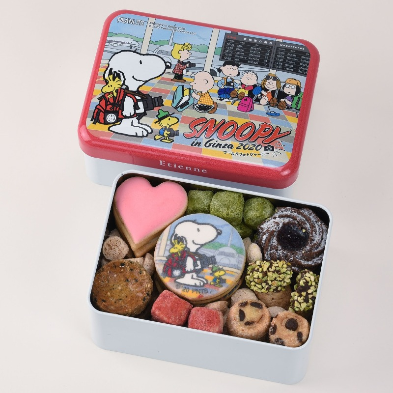 スヌーピー銀座コラボ2020ピーナッツ70周年グッズ三越お菓子クッキー1