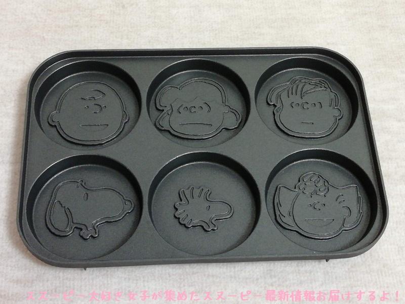スヌーピーBRUNOホットプレート顔型パンケーキたこ焼き鉄板かわいい12