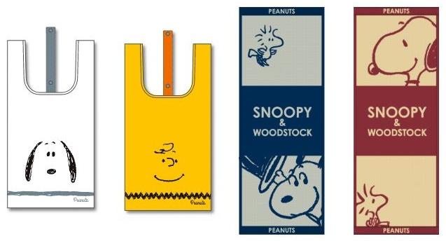 冬のスヌーピーフェアローソンコラボスタンプ犬小屋プレゼントエコバッグタオル7