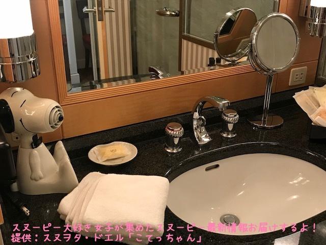 SNOOPY帝国ホテル大阪ドアマンスヌーピー感想レポかわいいピーナッツ19