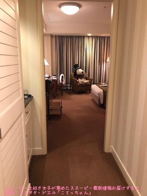 SNOOPY帝国ホテル大阪ドアマンスヌーピー感想レポかわいいピーナッツ4