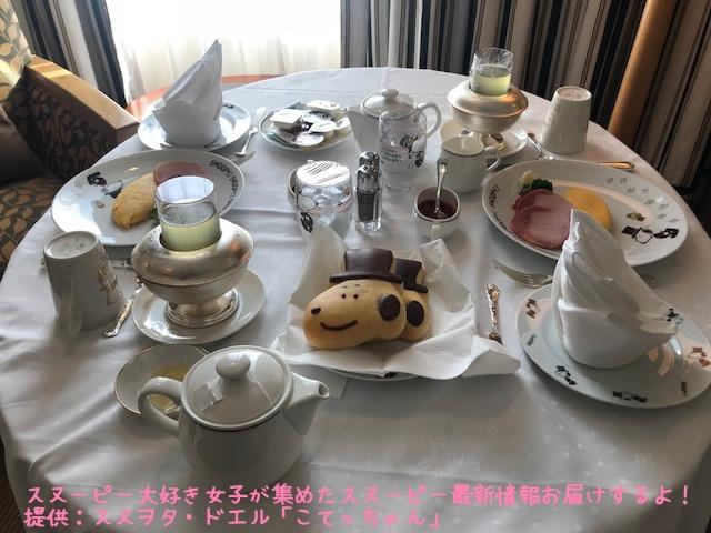 SNOOPY帝国ホテル大阪ドアマンスヌーピー感想レポかわいいピーナッツ50