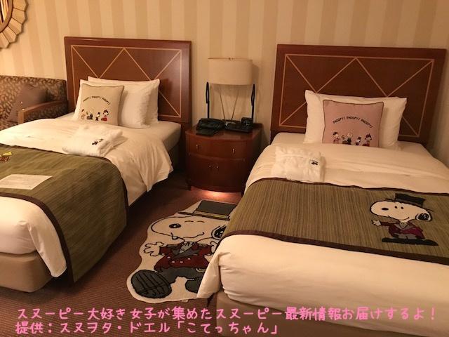 SNOOPY帝国ホテル大阪ドアマンスヌーピー感想レポかわいいピーナッツ8