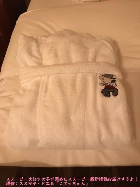 SNOOPY帝国ホテル大阪ドアマンスヌーピー感想レポかわいいピーナッツ9