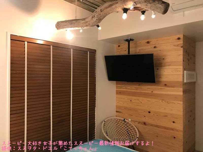 スヌーピーピーナッツホテル神戸写真38ルーム52お部屋テレビサーフィン海辺3