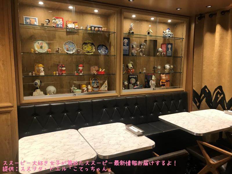 スヌーピーピーナッツホテル神戸写真69ピーナッツダイナーフィギュア展示