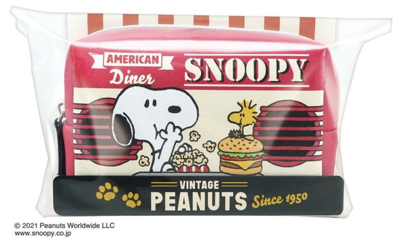スヌーピーホワイトデー2021お菓子アメリカンダイナー食いしん坊ポップコーン2
