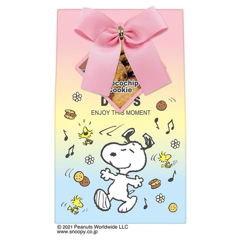 スヌーピーホワイトデー2021春お菓子HAPPYDAYSレインボーパステル1