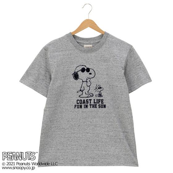 スヌーピーTシャツプラザ夏半袖かわいいジョークールウッドストック同じ