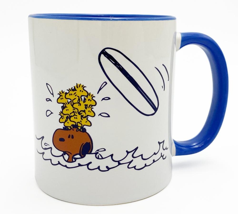 日焼けスヌーピーハワイ2021夏サーフズアップピーナッツかわいいマグカップ4